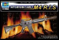 Trumpeter Models  1/3 AR15/M16/M4 Family M4 RIS Machine Gun (D)<!-- _Disc_ --> TSM1910