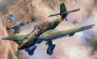Trumpeter Models  1/24 Junkers Ju.87B-2 Stuka German Dive Bomber - Pre-Order Item TSM2421