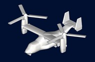 Trumpeter Models  1/700 MV22 Osprey Helicopter Set for Warships TSM3457