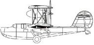 HMS Walrus Biplane Aircraft #TSM4208