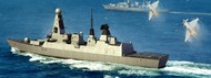 Trumpeter Models  1/350 HMS Type 45 British Destroyer (D)<!-- _Disc_ --> TSM4550