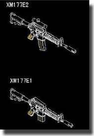 Trumpeter Models  1/35 AR15/M16/M4 Family XM117 Machine Gun TSM505