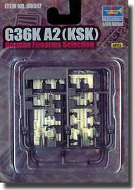Trumpeter Models  1/35 G36 KSK German Assault Rifles (4) TSM517