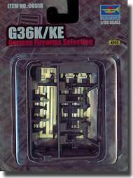 Trumpeter Models  1/35 G36KE/36K German Assault Rifles (4) TSM518