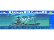 Trumpeter Models  1/700 US Battleship USS Wisconsin TSM5706