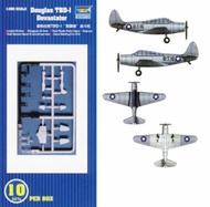 Trumpeter Models  1/350 TBD-1 Devastator Aircraft Set TSM6203
