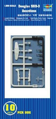 Trumpeter Models  1/350 SBD-3 Dauntless Aircraft Set TSM6204