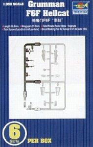 Trumpeter Models  1/350 Grumman F6F Hellcat Set TSM6210