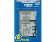 Trumpeter Models  1/350 Curtiss SB2C Helldiver Set TSM6211