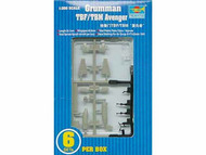 Trumpeter Models  1/350 Avenger TBF/TBM Avenger Set TSM6212