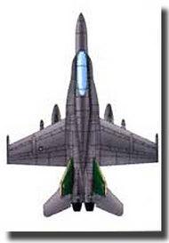 Trumpeter Models  1/350 F/A-18C Hornet TSM6233