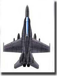 Trumpeter Models  1/350 F/A-18D Hornet TSM6234