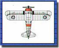 Trumpeter Models  1/350 F3F Fighter-Single Engine Biplane TSM6245