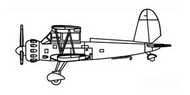 Ar.195 BiPlane Aircraft Set #TSM6278