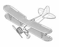Trumpeter Models  1/350 BM-2 BiPlane Dive Bomber Set for Carriers (12/Bx) (New Tool) (APR) - Pre-Order Item TSM6282