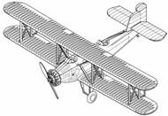 Trumpeter Models  1/350 T-4M BiPlane Torpedo Bomber Set for Carriers (12/Bx) (New Tool) (APR) - Pre-Order Item TSM6284