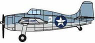 F4F-4 Wildcat Carrier-Based Fighter Set (4/Bx) (New Tool) (APR) - Pre-Order Item #TSM6402