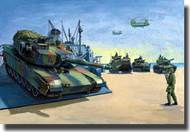 Trumpeter Models  1/350 Tank Set: 6 each M-1, M-60, AAVP-7 and LAV-25 - Pre-Order Item TSM6617