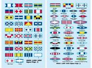 Trumpeter Models  1/200 USS Missouri Signal Flags for Kit #3705 (73) TSM6630