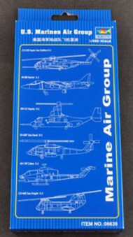 Trumpeter Models  1/350 US Marines Air Group Aircraft & Helicopter Set TSM6639