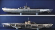 Trumpeter Models  1/48 German DKM Type VIIC U552 U-Boat w/48 Figures TSM6801