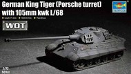 German King Tiger (Porsche turret) with 105mm kWh L/68 #TSM7161