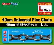 40cm Universal Fine Chain L Size 1.4mm x 2.3mm (DEC) #TSM8008