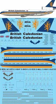 British Caledonian final Livery McDonnell-Douglas DC-10-30 #STS44261