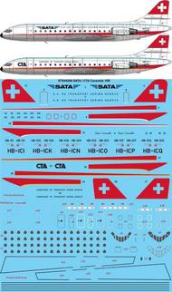 SATA / CTA Caravelle 10R (for A Model kit) #STS44284