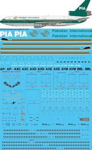 PIA Pakistan International 1980s McDonnell Douglas DC-10-30 #STS44310