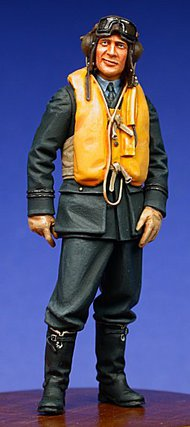 Ultracast  54mm RAF Fighter Pilot, Battle of Britain 1940 UC54012