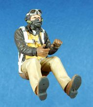 Ultracast  54mm USAAF P-51D Seated Fighter Pilot, Mid-Late Wa UC54017
