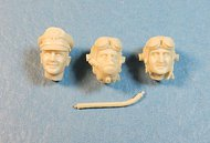 Ultracast  54mm USAAF Pilot Heads, 1942-1945 #1 UC54020