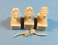 Ultracast  54mm USAAF Pilot Heads, 1942-1945 #2 UC54021
