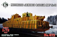 MBV #01 motorized armored railcar #UMMT673