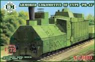 PR-43 Armored Locomotive #UNM680