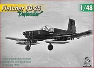 "Fletcher FD-25 ""Defender"" US 1950's light ground attack aircraft - Pre-Order Item UNI48006"