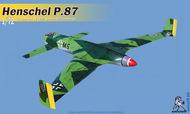 Henschel HS P.87 German pusher bomber #UNI72142