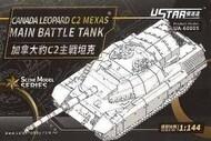 Ustar  1/144 Canada Leopard C2 Mexas Main Battle Tank USTUA60005