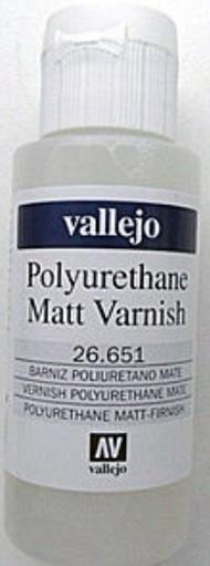 Vallejo Paints  No Scale 60ml Bottle Polyurethane Matte Varnish VLJ26651