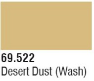Vallejo Paints  Washes 17ml Bottle Desert Dust Wash Mecha Color VLJ69522