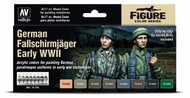 17ml Bottle Gernan Fallschirmjager Early WWII Model Color Paint Set (8 Colors) #VLJ70185