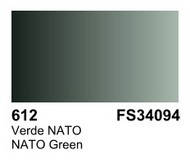 Vallejo Paints  Primer 17ml Bottle NATO Green Surface Primer VLJ70612