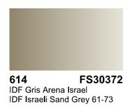 Vallejo Paints  Primer 17ml Bottle IDF Israeli Sand Grey Surface Primer VLJ70614