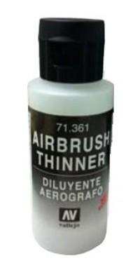 60ml Bottle Airbrush Thinner #VLJ71361