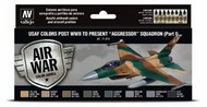 17ml Bottle USAF Colors Post WWII to Present Aggressor Squadron Part 1 Model Air Paint Set (8 Colors) #VLJ71616