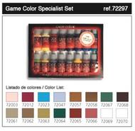 Vallejo Paints  GameColor 17ml Bottle Specialist Game Color Paint Set (16 Colors) VLJ72297