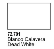Vallejo Paints  GameColor 17ml Bottle Dead White Game Air VLJ72701