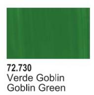 Vallejo Paints  Vallejo Game Color 17ml Bottle Goblin Green Game Air VLJ72730