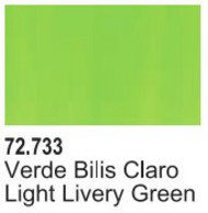 Vallejo Paints  Vallejo Game Color 17ml Bottle Livery Green Game Air VLJ72733